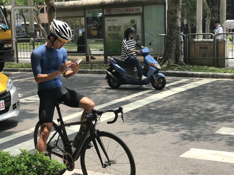 台湾骑行,旅行
