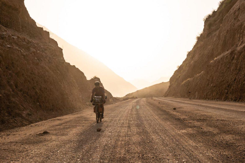 丝绸之路,山地车,旅行