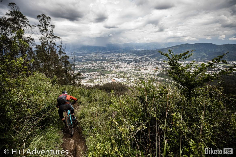 山地自行车,H+I,厄瓜多尔