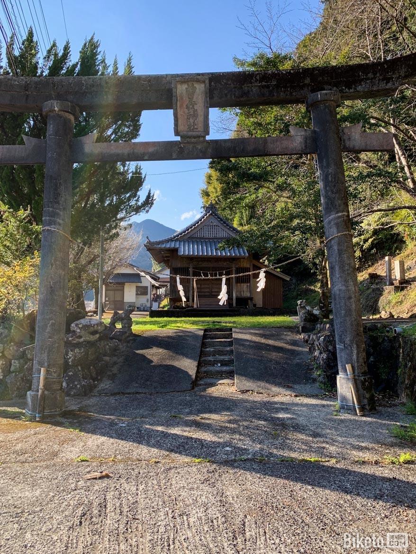 骑行,日本,神社,四国