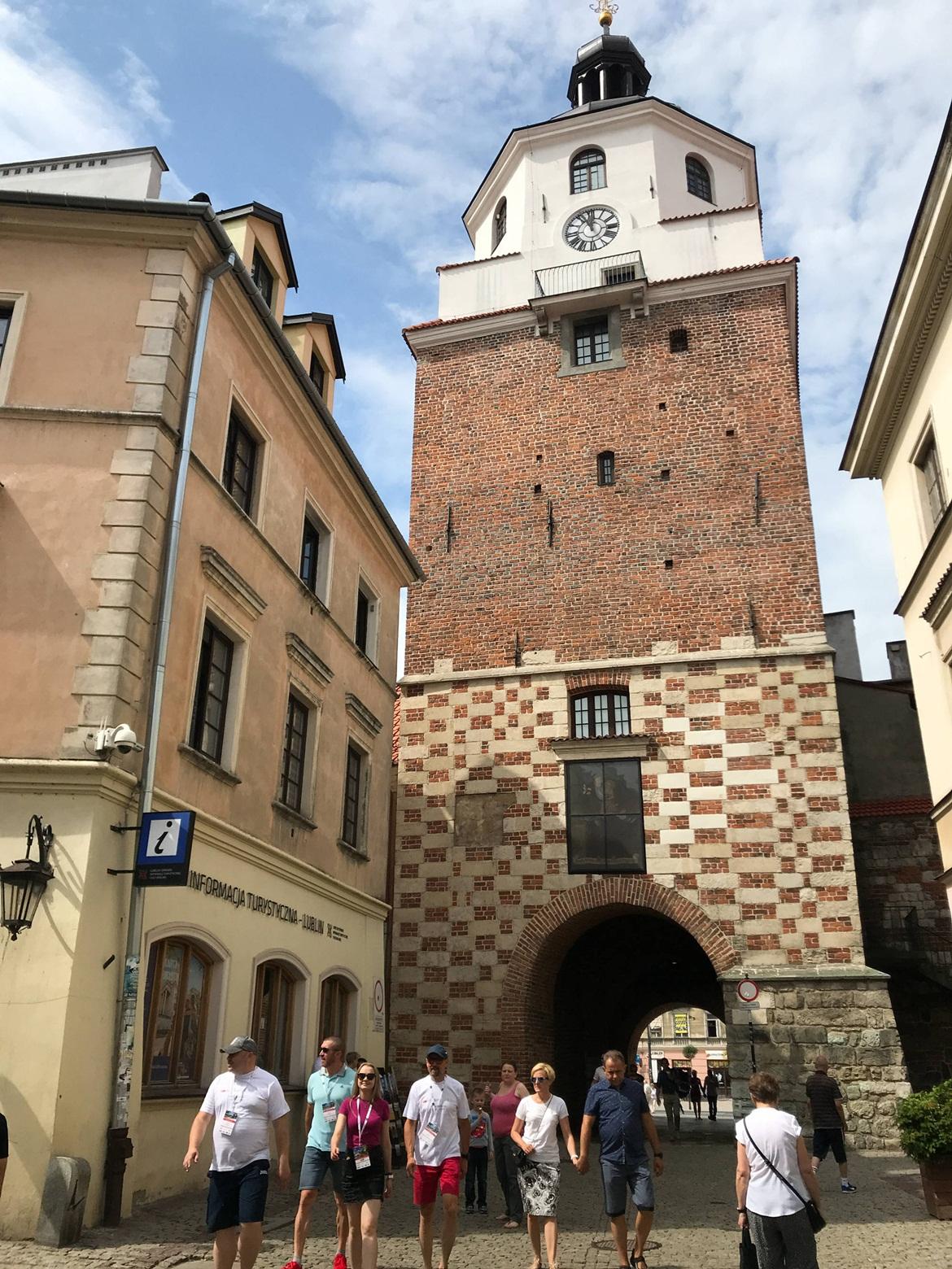 卢布林,犹太区,古老,建筑