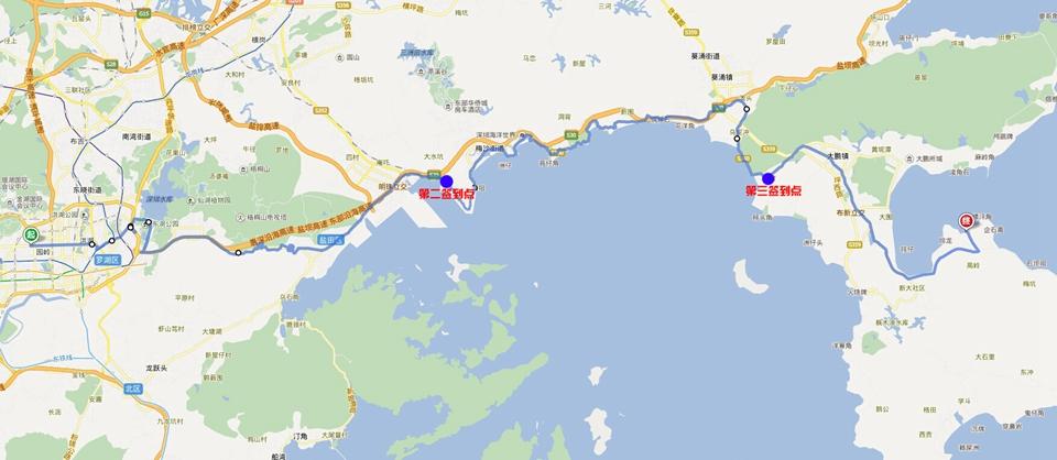 深圳沿海公路:带你看海带你飞