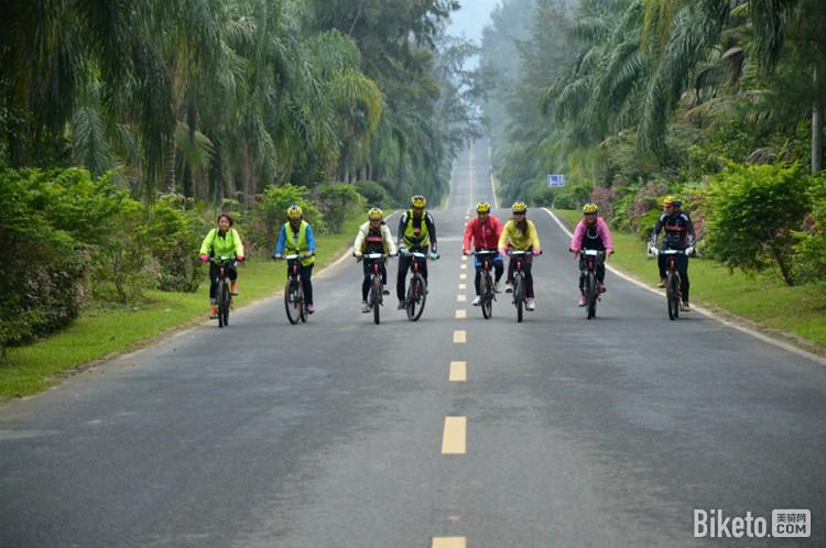 骑行兴隆绿道图片