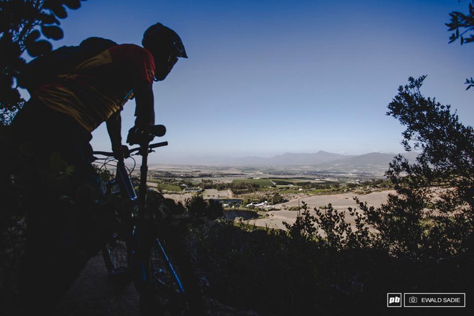 骑行南非帕阿尔