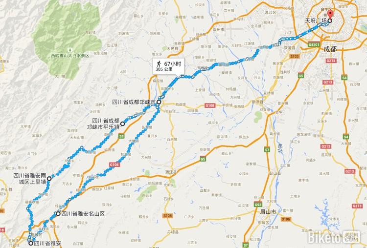 四川骑行路线:3天以上中长途篇_上里平乐小环线.