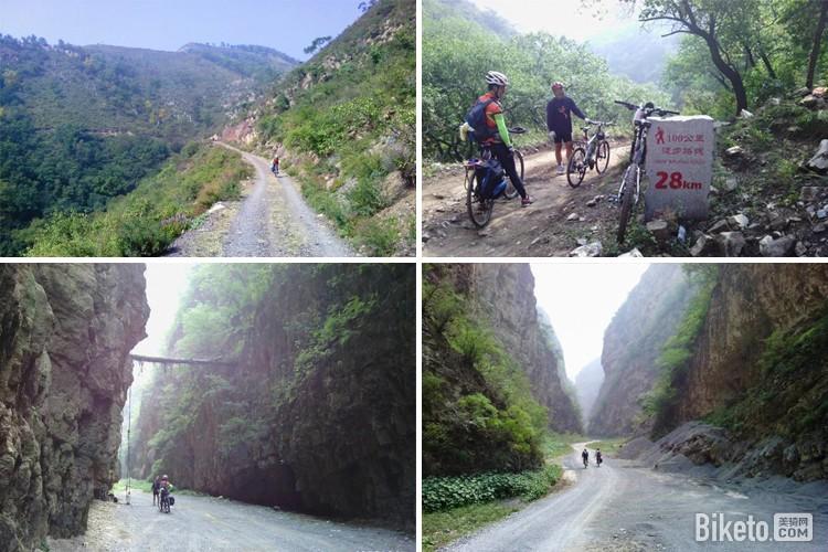 北京XC越野路线_沿河口至黄草梁大峡谷XC环形路线