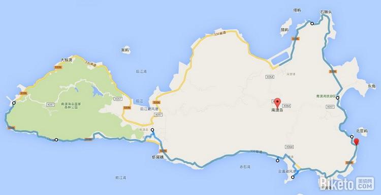 城市周边丨粤东明珠 南澳岛骑行路线