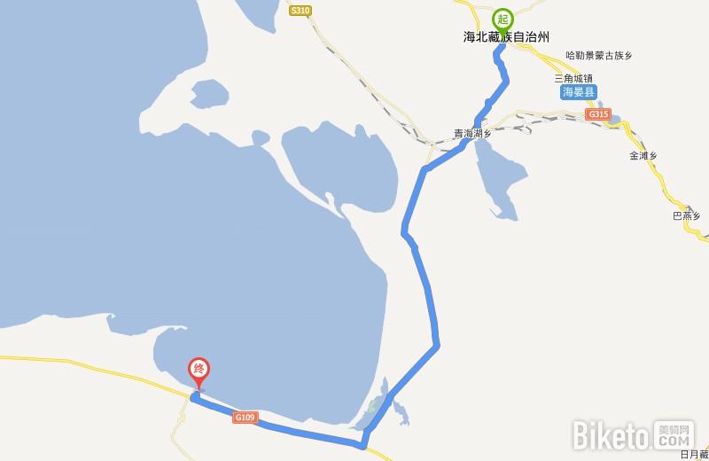 西海镇 - 二郎剑_经典路线丨环青海湖骑行攻略与常见问题解答