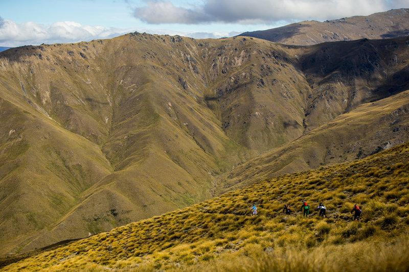 新西兰山地车越野