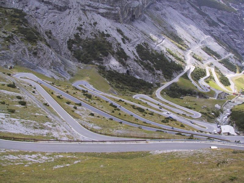 意大利Passo Dello stelvio