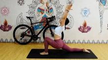 单车瑜伽EP1:美女老师教你全身拉伸