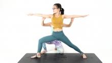 单车瑜伽EP4:战士系列训练法 让大腿力量在酸爽中爆发