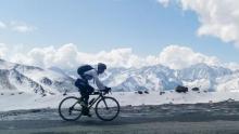 公路车骑行川西微环线详细记录:跨过山巅  飞跃云端