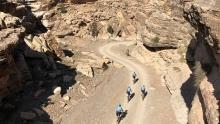 在深山老林里放飞自我 摩洛哥浪漫骑行之旅