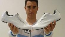 欧洲冠军之选 当时最新式的气动骑行锁鞋