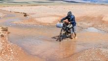 斜穿那曲-阿里之旅(5)Day2 甲热布错湖畔 牧民人家扎营