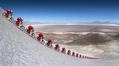 视频|速降也气动 Max创造全新世界纪录167.6km/h!