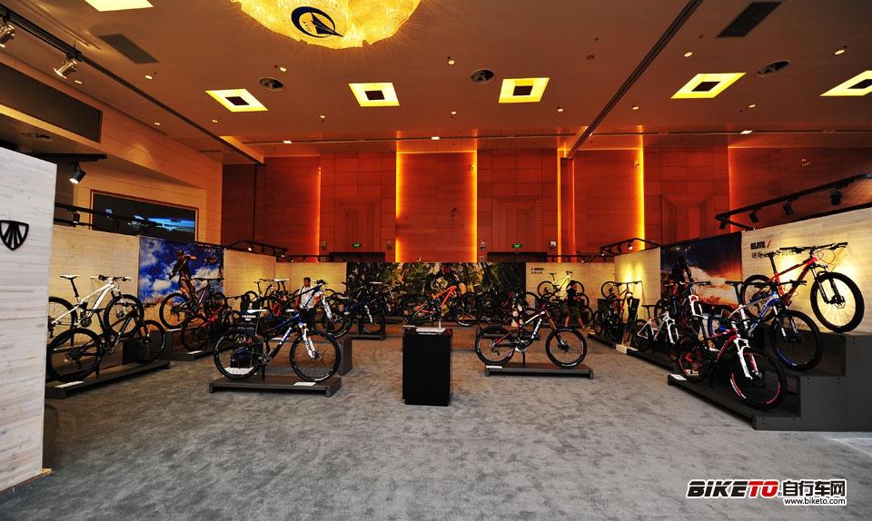 TREK world 2014山地车展示区