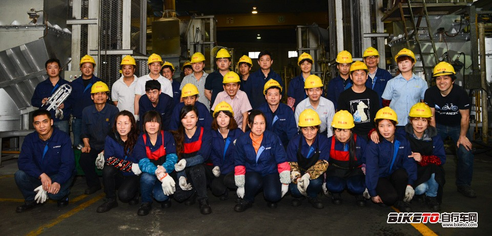 SR SUNTOUR工厂工人们