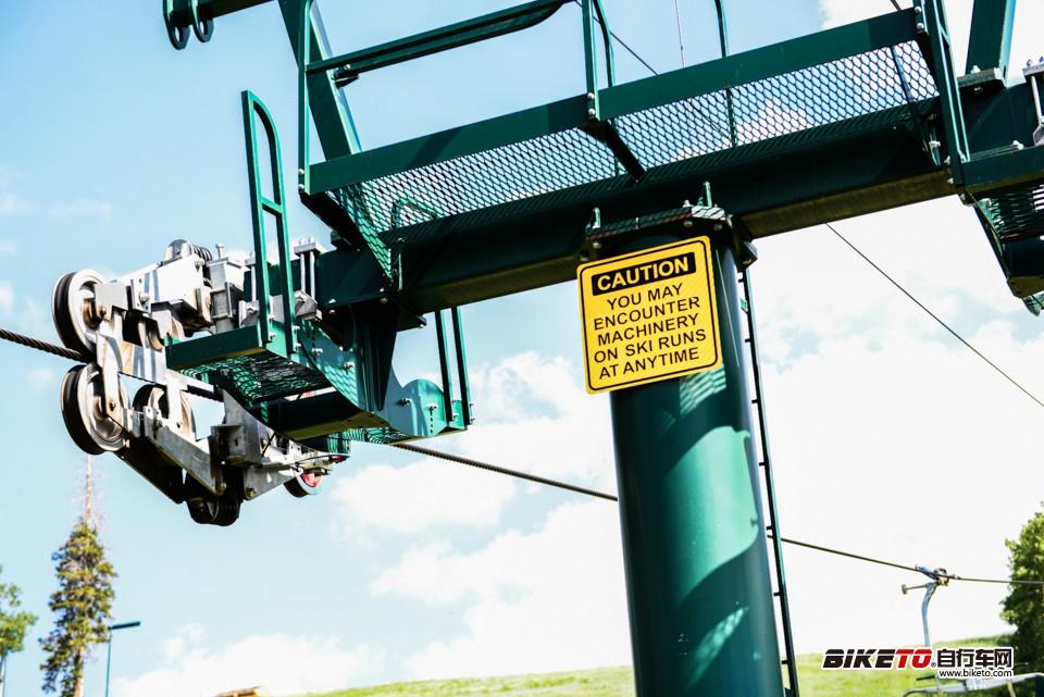 scott,鹿谷,盐湖城 缆车安全标示