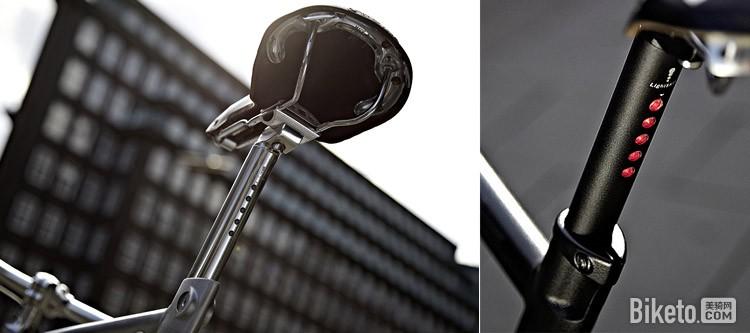 LightSkin自行车座管