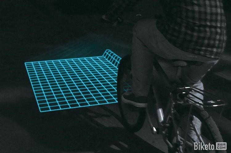 Lumigrids自行车灯