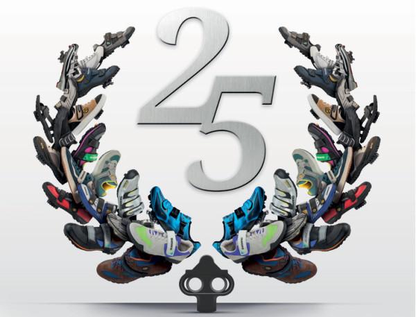 禧玛诺推出25周年纪念款脚踏和锁鞋组合