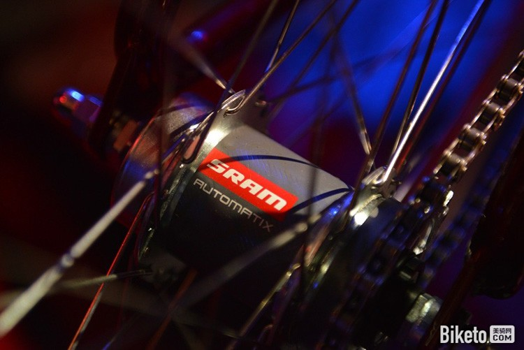 SRAM 2档内变速花鼓
