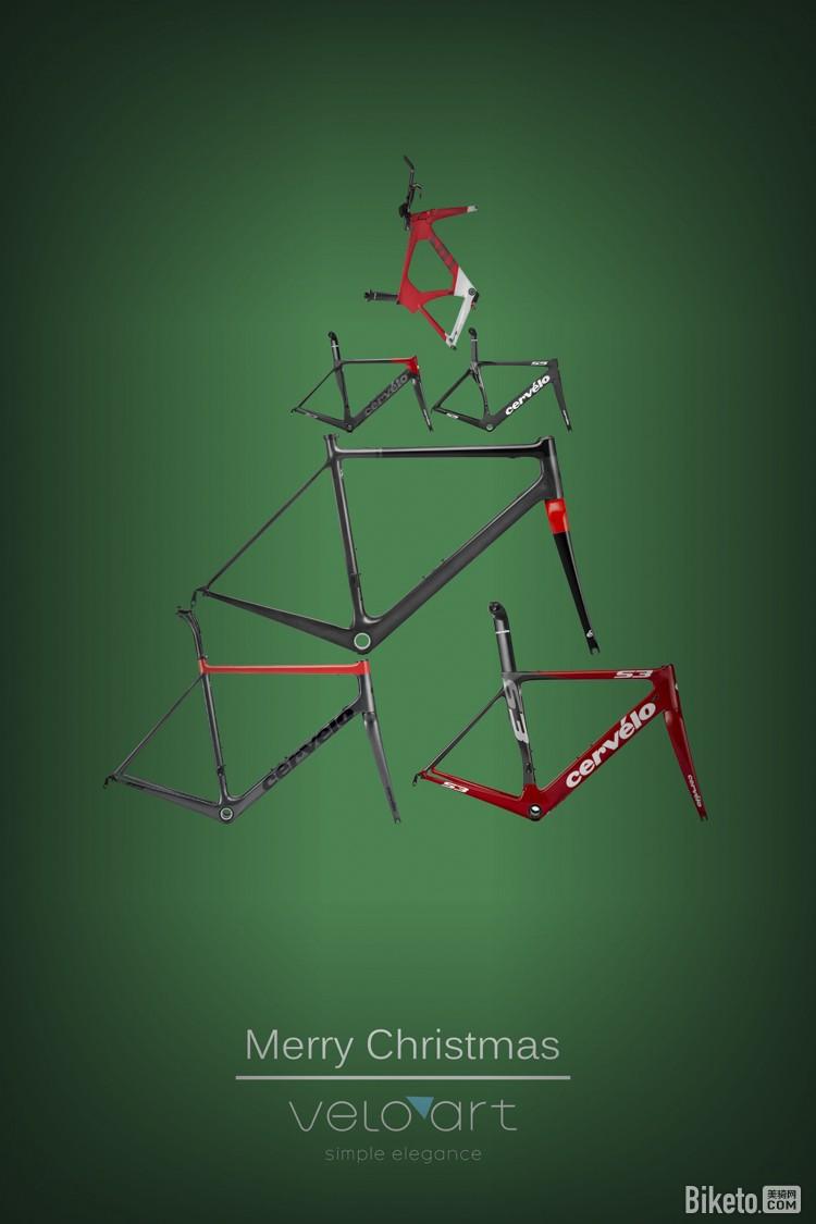 这家车店 用圣诞元素点亮了整个自行车世界
