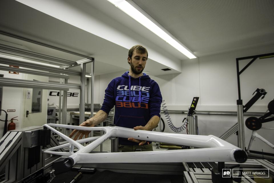 欧洲最大自行车制造商――CUBE总部工厂参观记
