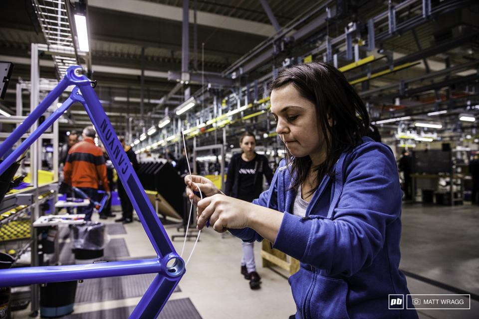 全球最大自行车直销品牌――Canyon德国总部工厂参观记
