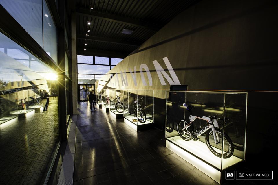 全球最大自行车直销品牌――Canyon总部工厂参观记