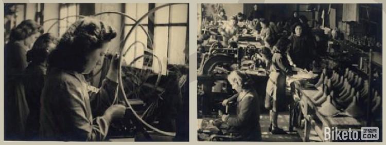 第一次世界大战结束后,BH转型为专业自行车制造商,用制造军火的技术焊接自行车架