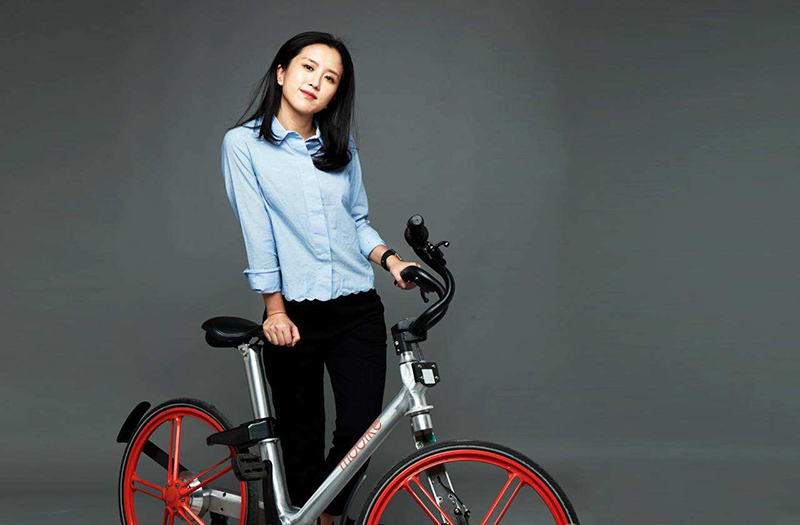 摩拜单车创始人胡玮炜
