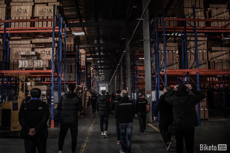 金轮集团工厂参观