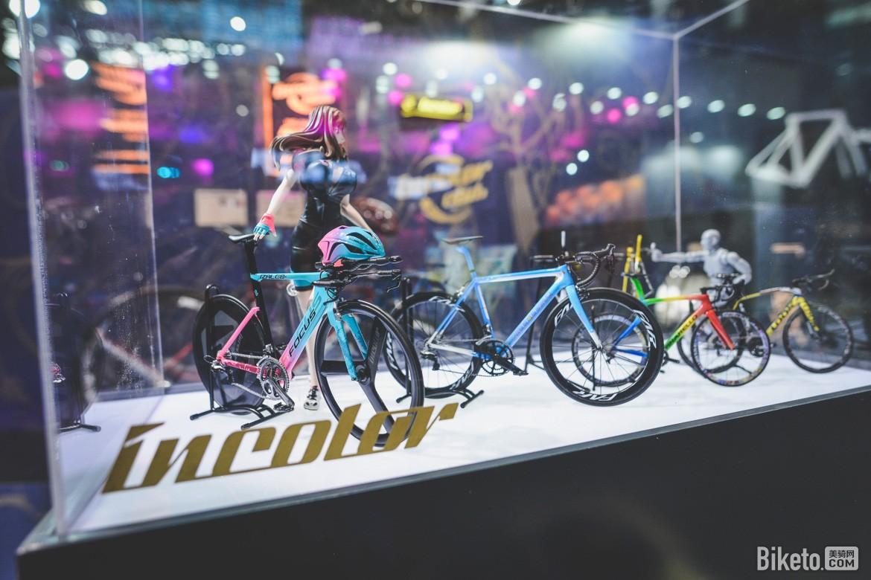 incolor,上海自行车展