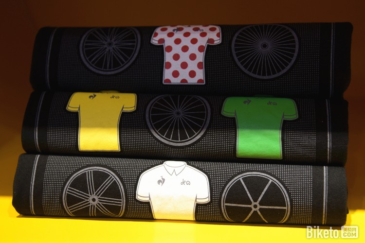 乐卡克常年为环法大赛定制领骑衫