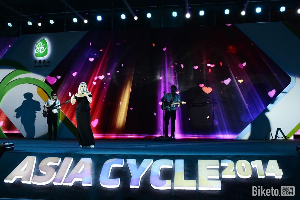 昆山亚洲自行车精品展  自行车之夜