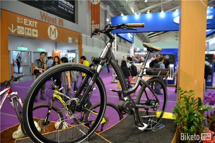 城市通勤电动助力自行车