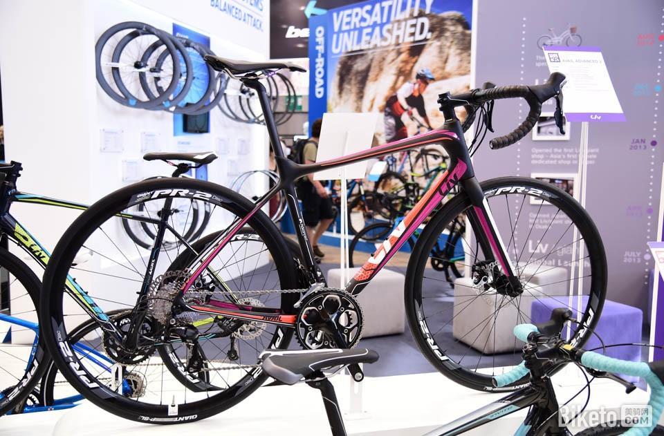 Giant 旗下女性专属自行车品牌Liv