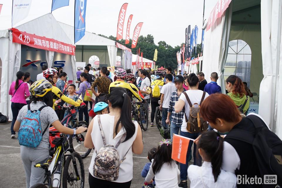 中国国际自行车嘉年华 扫货买到手软!