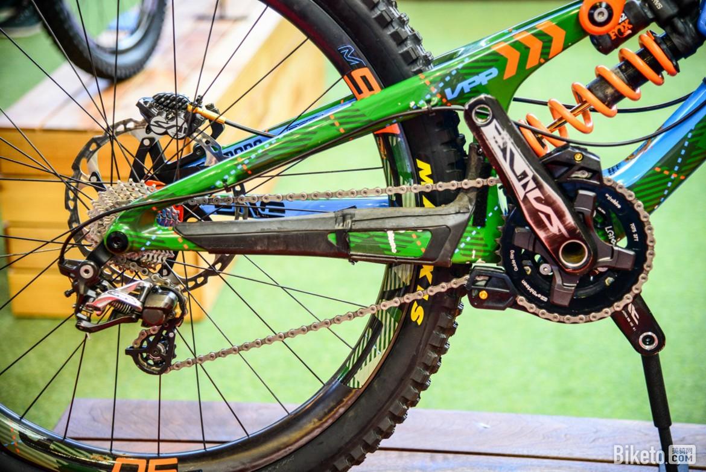 Eurobike上最有个性的涂装车架