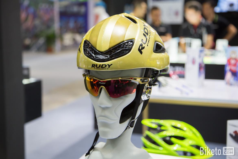 2017亚洲自行车展装备盘点,骑行头盔,自行车头盔,RudyProject