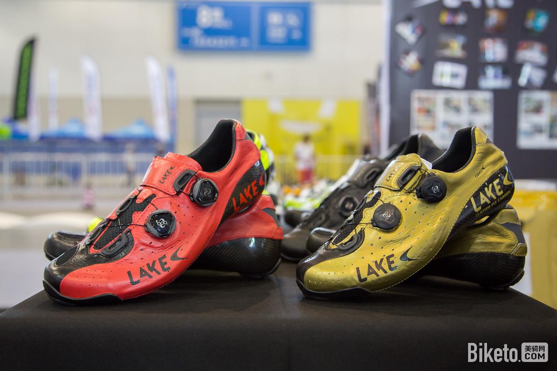 2017亚洲展装备,Lake骑行锁鞋