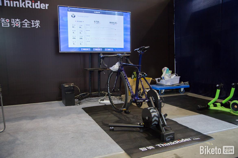 2017亚洲自行车展,骑行装备,智趣骑行台