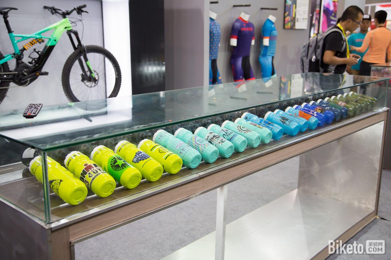2017亚洲自行车展,骑行装备,自行车水壶