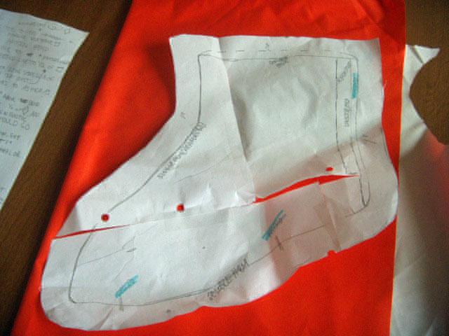DIY防水鞋套