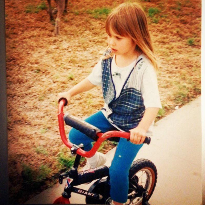 自行车姐妹花