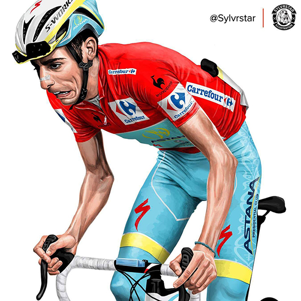 这是Keston在Facebook账号Sylvrstar illustrations所用的头像
