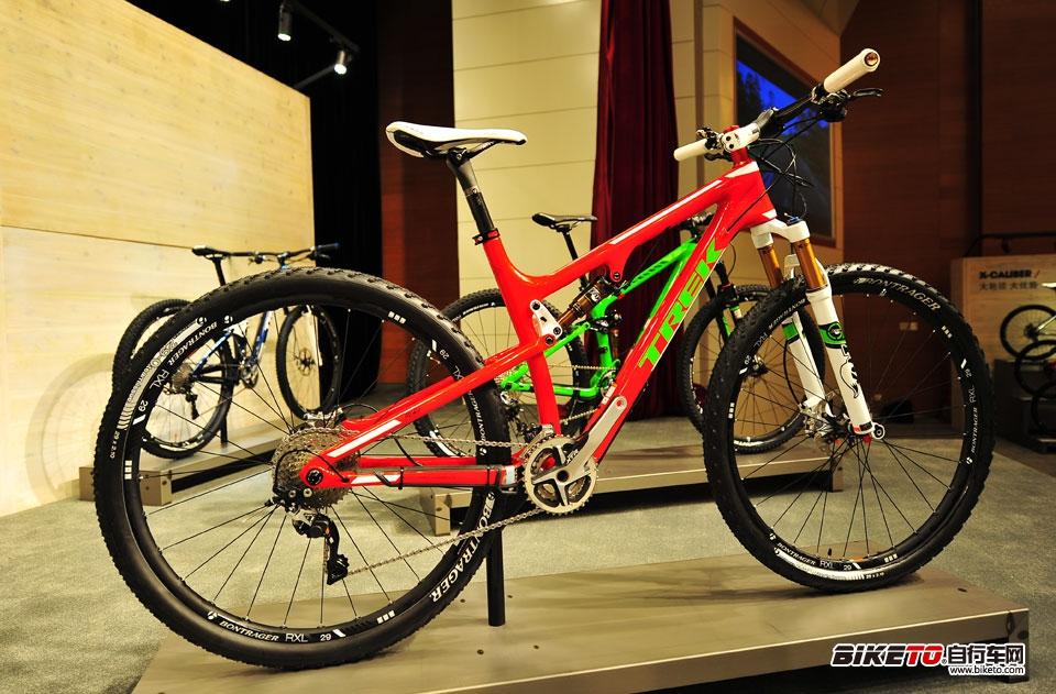 TREK Fuel Ex 29er project 红色